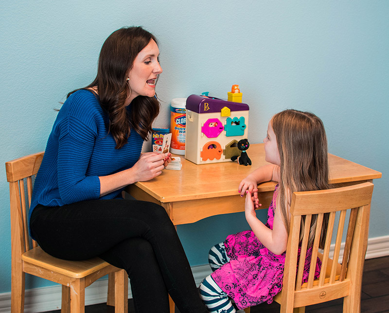 Pediatric speech therapy at Monkey Mouths